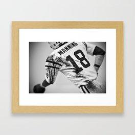 Peyton Manning Framed Art Print
