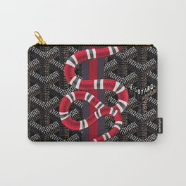 Goyard Snake Carry-All Pouch