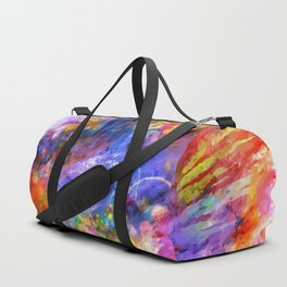 Abstract background Duffle Bag