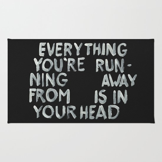 In your head Rug