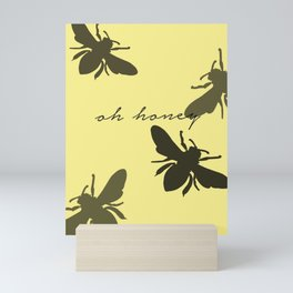 Bee Southern Mini Art Print