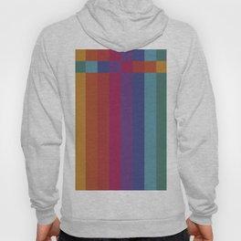 The Color Wheel / Rainbow Stripes Hoody