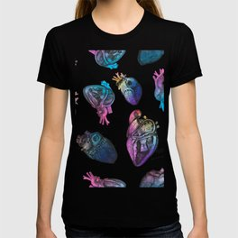 Colourful Anatomical Hearts T-shirt
