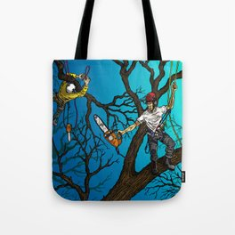 Tree Surgeons Tote Bag