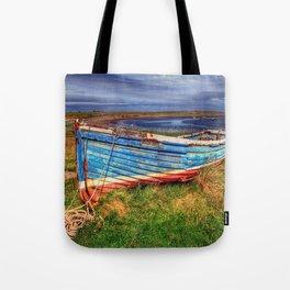 Lindisfarne By The Sea Tote Bag