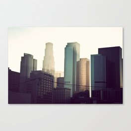 Downtown LA Canvas Print