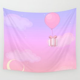 Animal Crossing Sunset Wall Tapestry