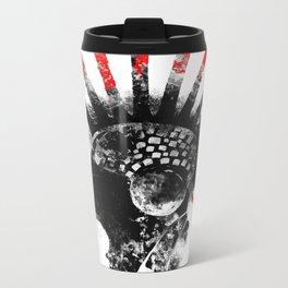 cyberpunk Metal Travel Mug