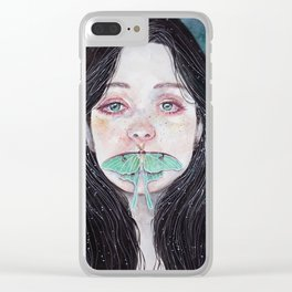 Unsaid truths Clear iPhone Case