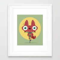 bicycle Framed Art Prints featuring Bicycle by Maria Jose Da Luz