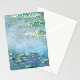 water liliesMonet Water Lilies / Nymphéas 1906 Stationery Cards