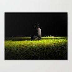 Pig Roaster Canvas Print