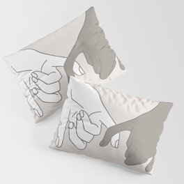 Pinky Promise 4 Pillow Sham