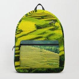 Viet Nam  Art Print, Sapa Rice Terrace, Paddy field, Wall Art Decor, Travel Poster, Fine Art Print Shop Backpack
