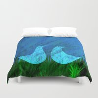 lovers Duvet Covers featuring Lovers by Inmyfantasia