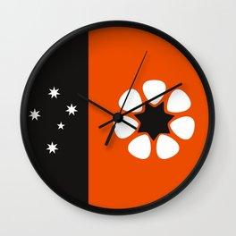 Australia northern territory flag country region Wall Clock
