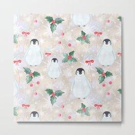 Christmas pattern. Metal Print