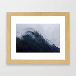 Berchtesgaden Hillside Framed Art Print