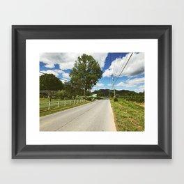 Road Walk •Appalachian Trail Framed Art Print