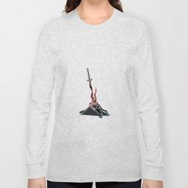Dark Souls Pixel Bonfire Long Sleeve T-shirt