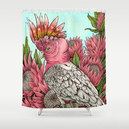 Major Mitchells Cockatoo Shower Curtain
