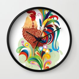 Chicken Whisperer Tshirt Funny Farm Poultry Farmer Tee Gifts Wall Clock