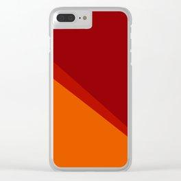 alla montagna Clear iPhone Case