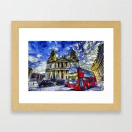 Vincent Van Gogh London Framed Art Print