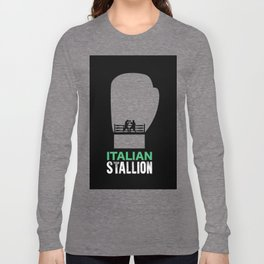 Italian Stallion Balboa Ring Long Sleeve T-shirt