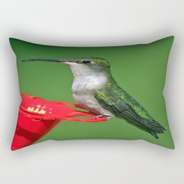 Ms. Bright Eyes Rectangular Pillow