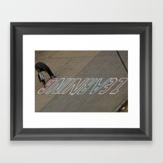Education Framed Art Print