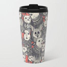 sweater mice coral Travel Mug