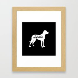 Labrador Framed Art Print