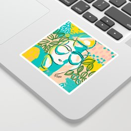Willendorf Beach Sticker