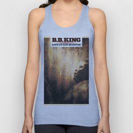 BB King Live At San Quentin CD Cover Unisex Tank Top