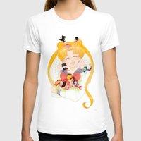 sailor moon T-shirts featuring Sailor Moon by cezra