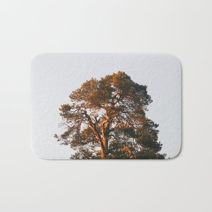 Half Tree Bath Mat