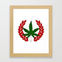 DTHC Original Logo Framed Art Print