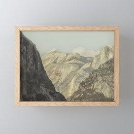 Half Dome VIII Framed Mini Art Print