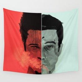 Tyler Durden V. the Narrator Wall Tapestry