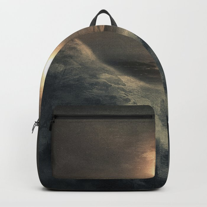 Hope in the moon Backpack