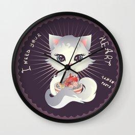 I need your heart for my ramen Wall Clock