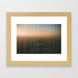 LA Sunrise Framed Art Print