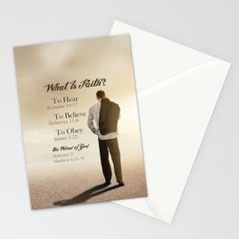 What Is Faith? Stationery Cards