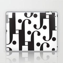 "Musical - The Didot ""j"" Project Laptop & iPad Skin"