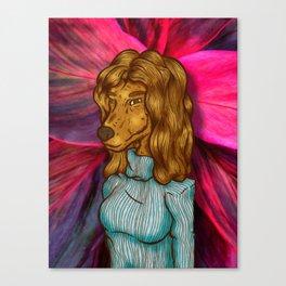 Randie's Portrait Canvas Print