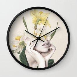 Bloom 4 Wall Clock