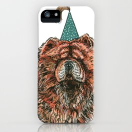 Chow Party iPhone Case