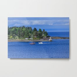 Point in Nanaimo Metal Print