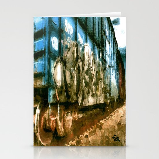 RUSTY RAIL Stationery Cards